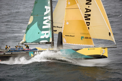 VOLVO OCEAN RACE START - VIGO-SPAIN- 12NOV 2005