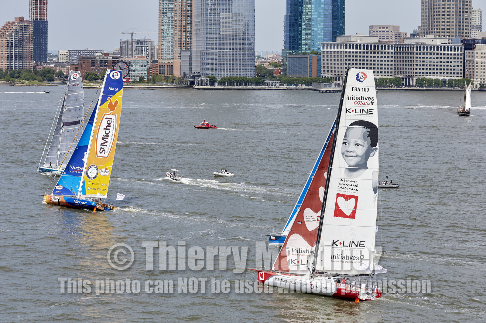 Start of NEW YORK-VENDEE (Les Sables d'Olonne) presented by Currency House & SpaceCode.